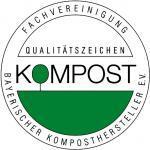 Qualitätszeichen Kompost der Fachvereinigung Bayerischer Komposthersteller e.V.