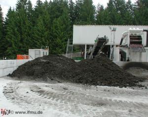 Aufbereiteter Teichschlamm bzw. Baggergut