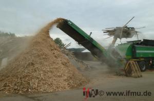 Aufbereitung von Altholz