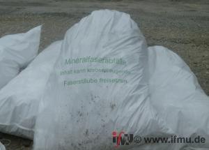 Trennung von KMF - Dämstoffen beim Abbruch