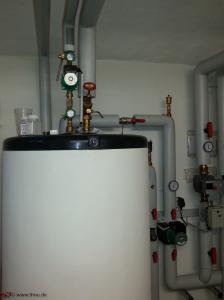 Legionellen-Untersuchung an einer Trinkwasserinstallation