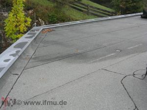 bituminöse Dachpappe als Dacheindeckung