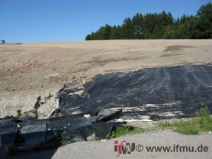 Entsorgung von Bodenmaterial und Bauschutt auf Deponien