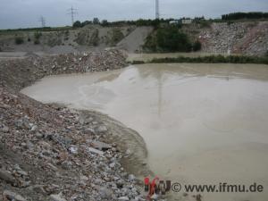 Verfüllung von Gruben und Brüchen mit Boden und Bauschutt
