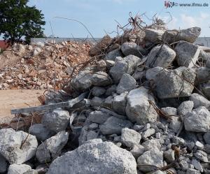 Untersuchung von Bauschutt und Recyclingmaterial