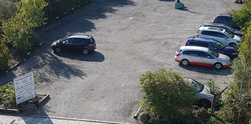 ifMU Parkplatz