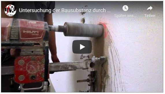 ifMU Youtube-Link: Kernbohrungen zur Erkundung der Bausubstanz