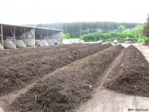 Biomasse wird in Kompostanlagen verwertet